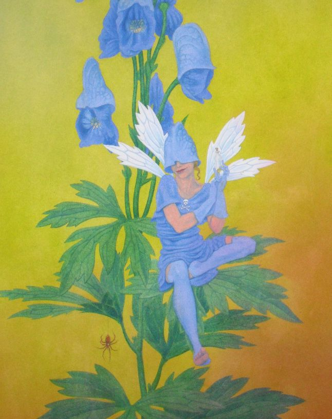 Monkshood Fairy - step-by-step 5
