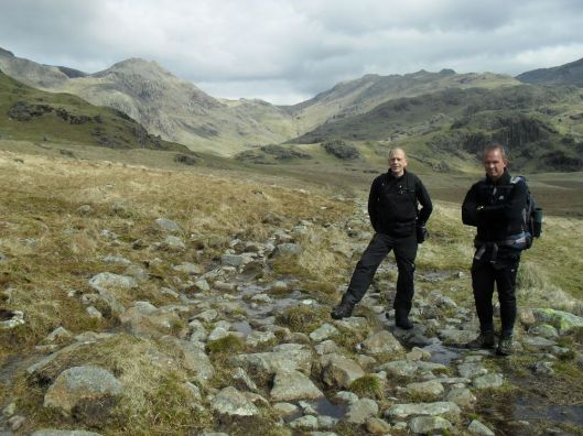 on the way to ScaFell
