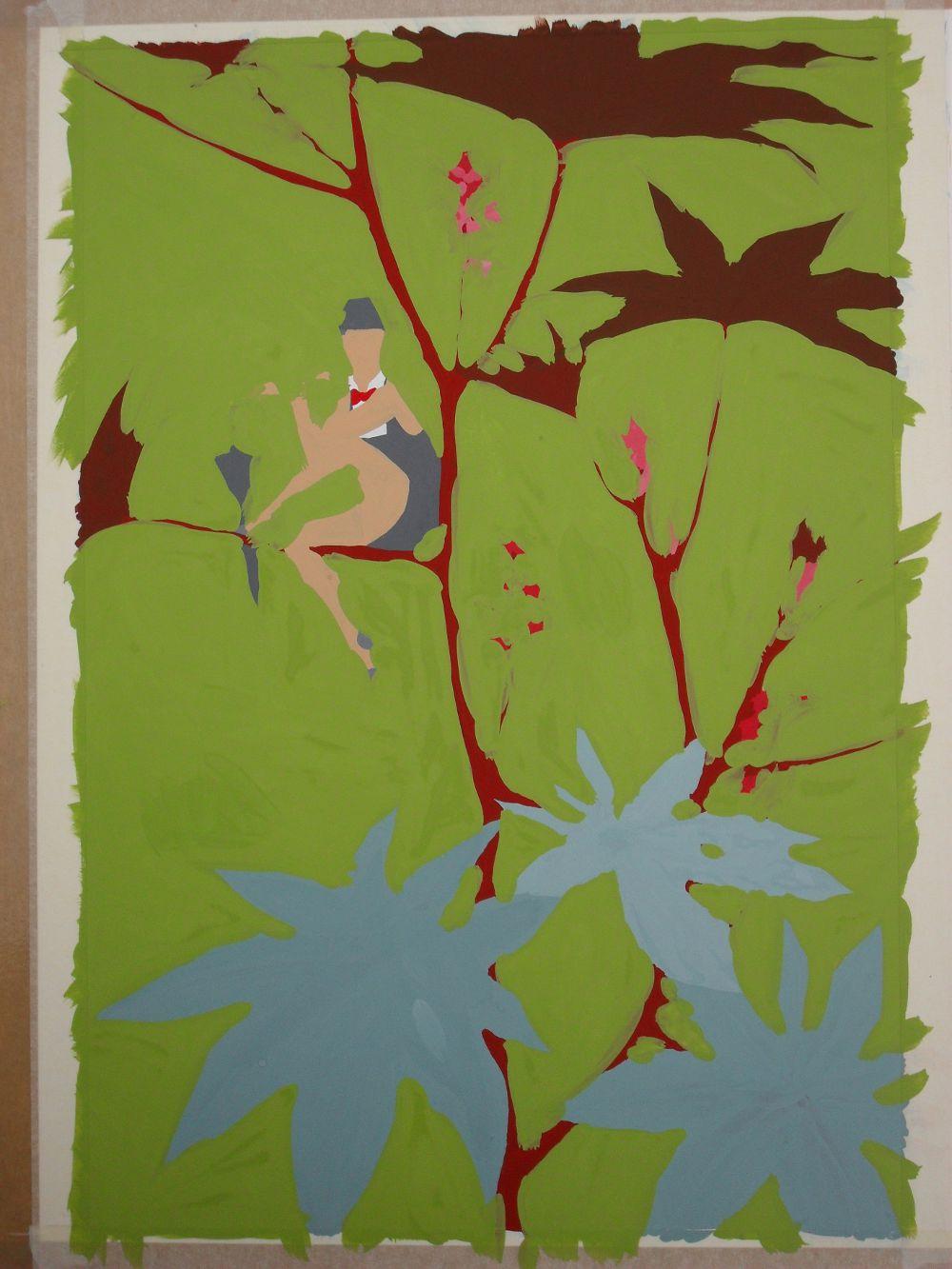 Ricin Fairy: filling in the colour.