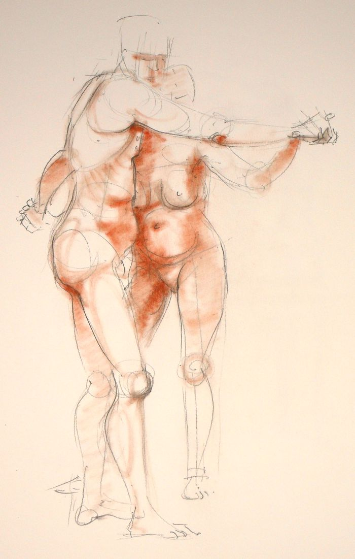 Life Drawing (no: 2012-11)