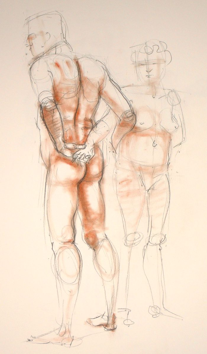 Life Drawing (no: 2012-12)