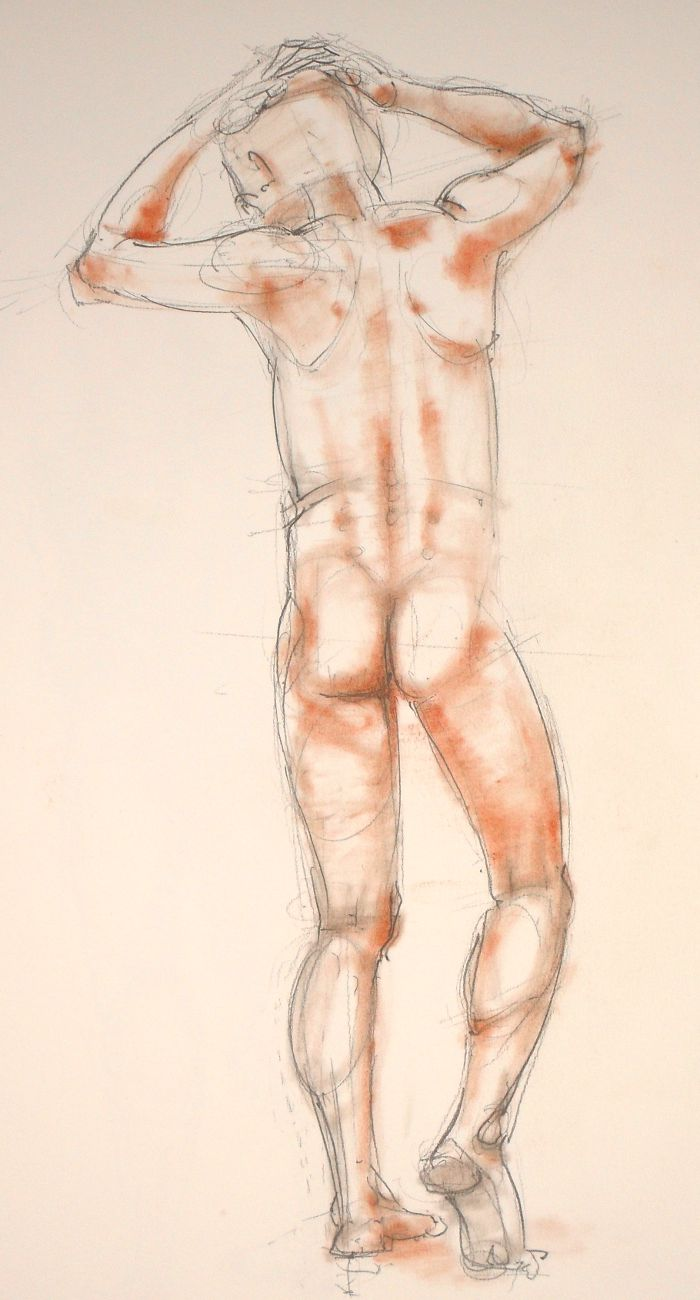 Life Drawing sketch (no: 2012-13)