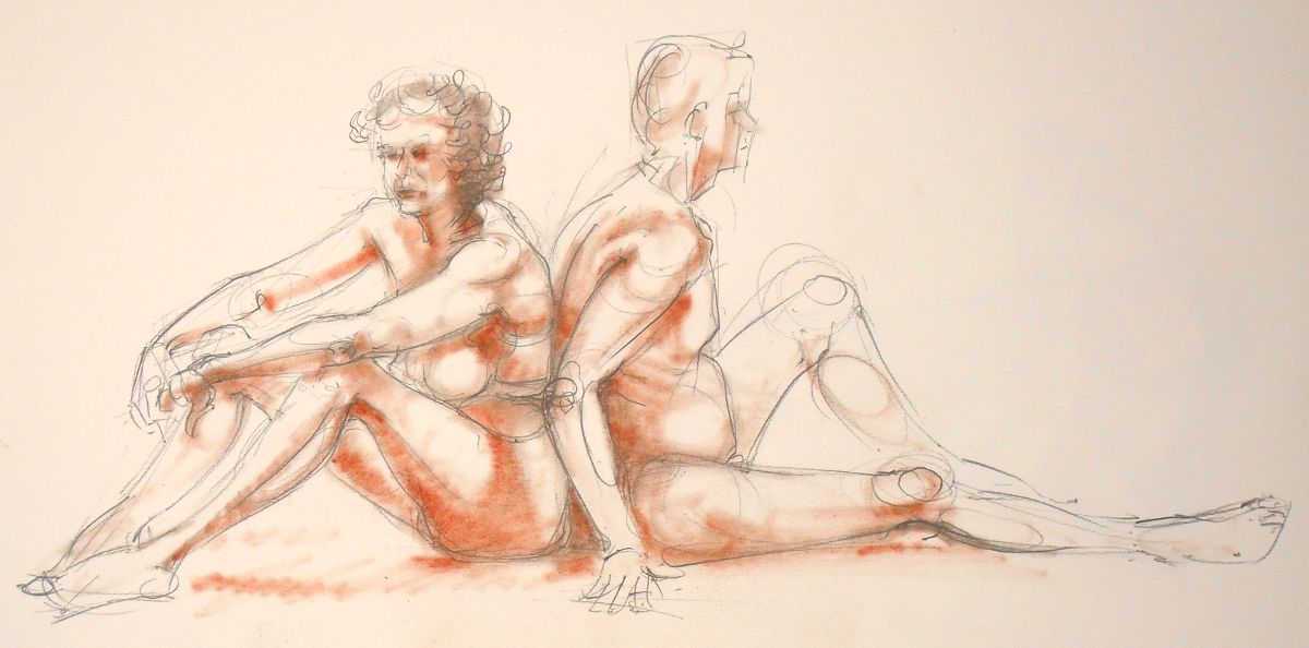 Life drawing (no: 2012-14)