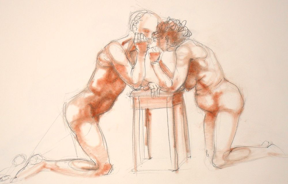 Life drawing (no: 2012-15)