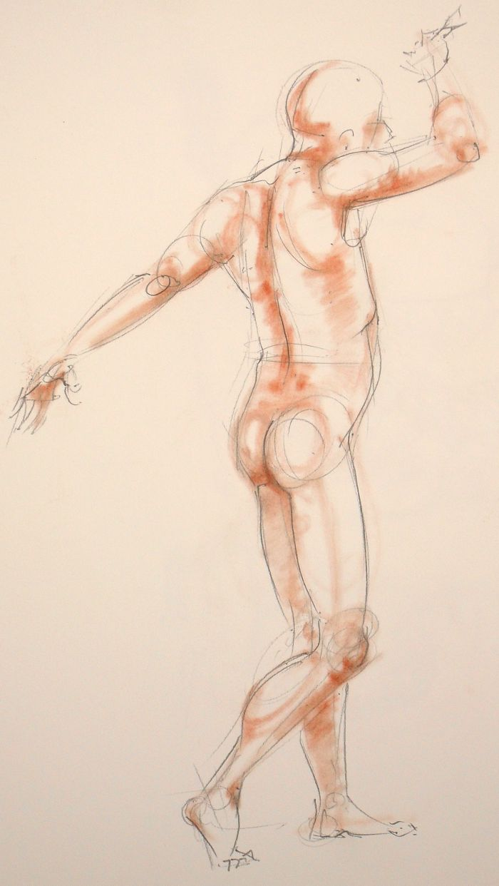 Life drawing (no: 2012-17)