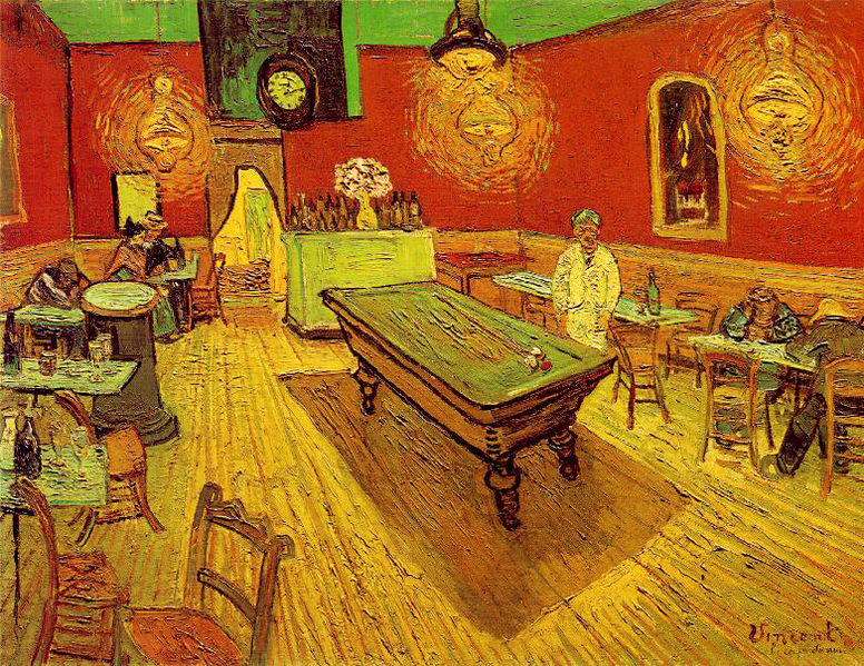 The Night Cafe by Vincent Van Gough