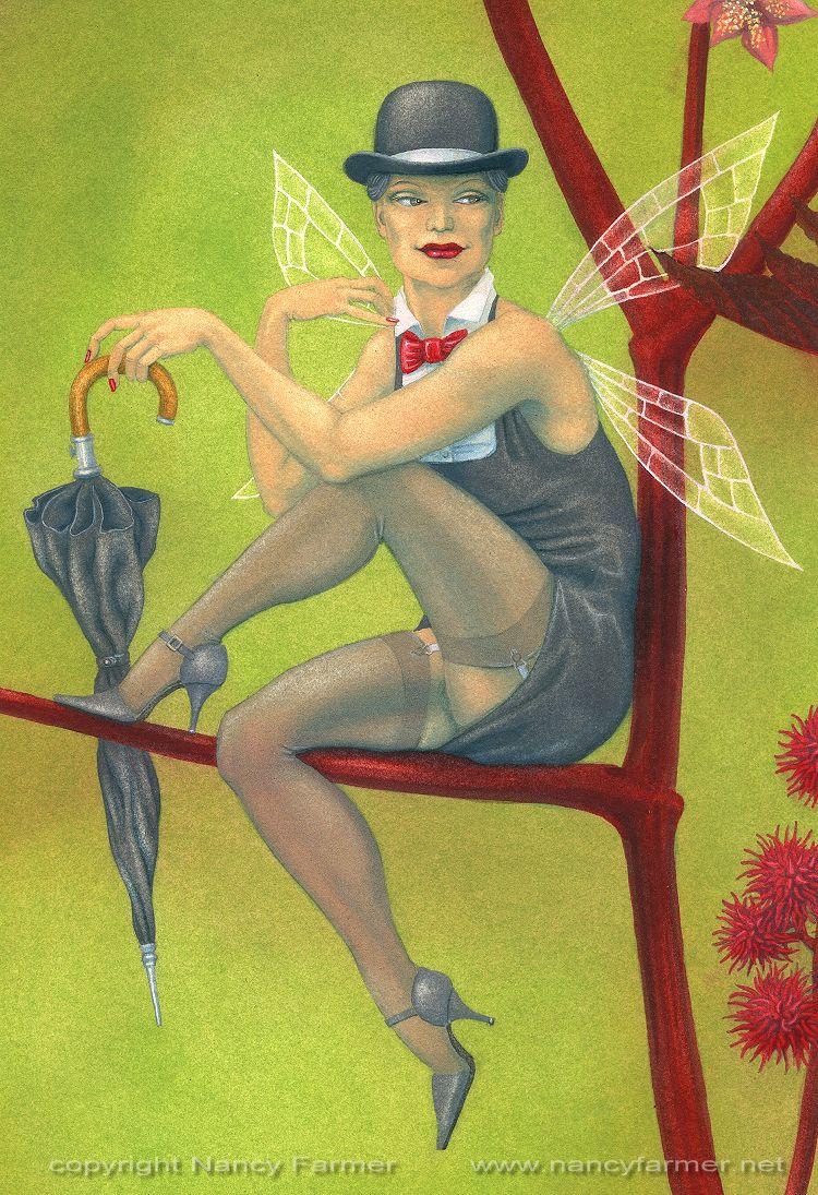Ricina, Fairy of the Castor Bean Plant