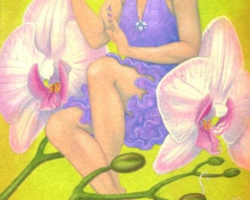 Sherrie-jane: portrait of a Lingerie Fairy