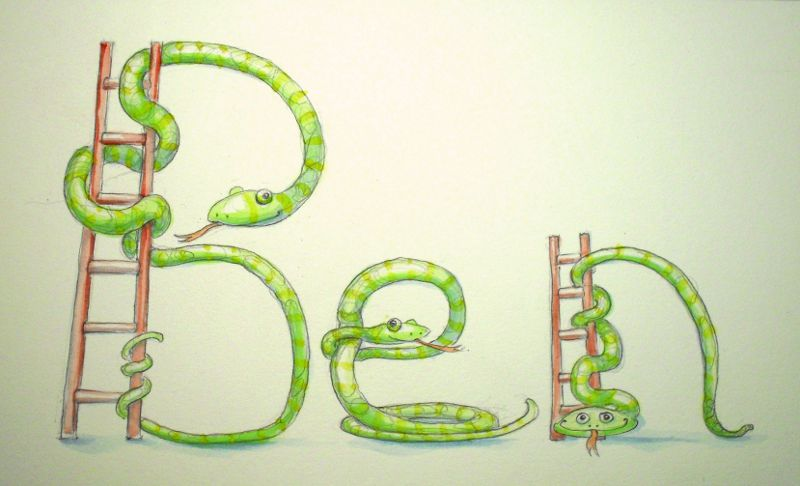 Snakes and Ladders: the spelling sort
