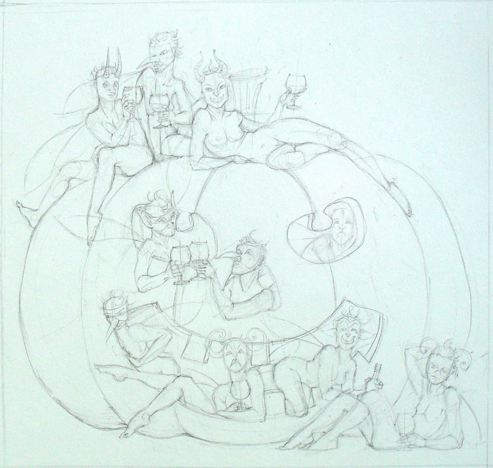 10 Fairies and a Pumpkin for October