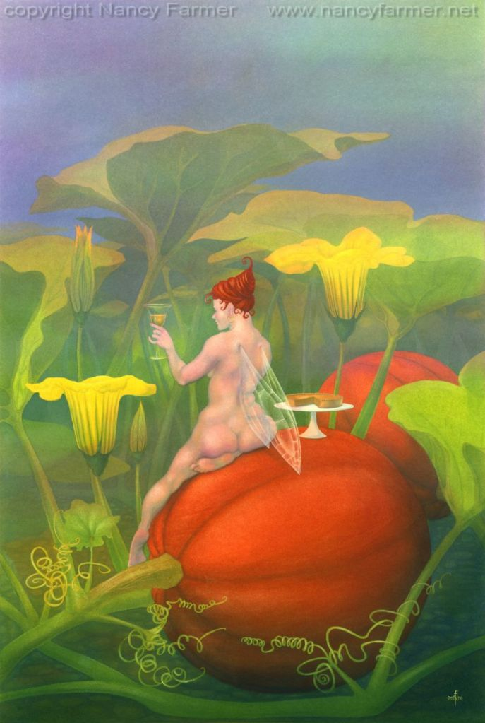 'The Flower Fairies go to Seed: Pumpkin'