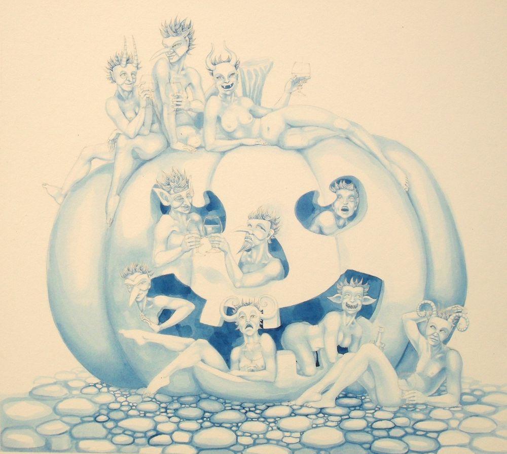 Pumpkin Fairies - work in progress