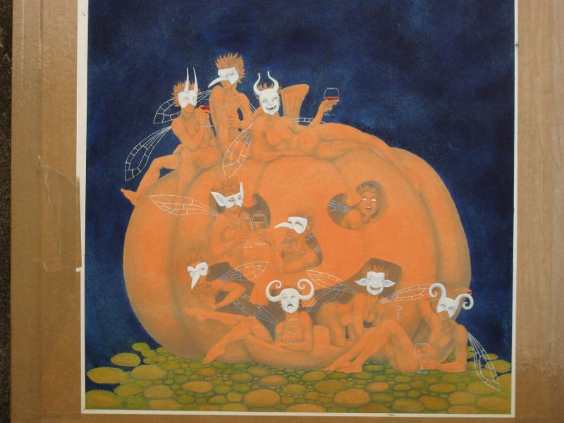 Pumpkin Fairies - work in progress