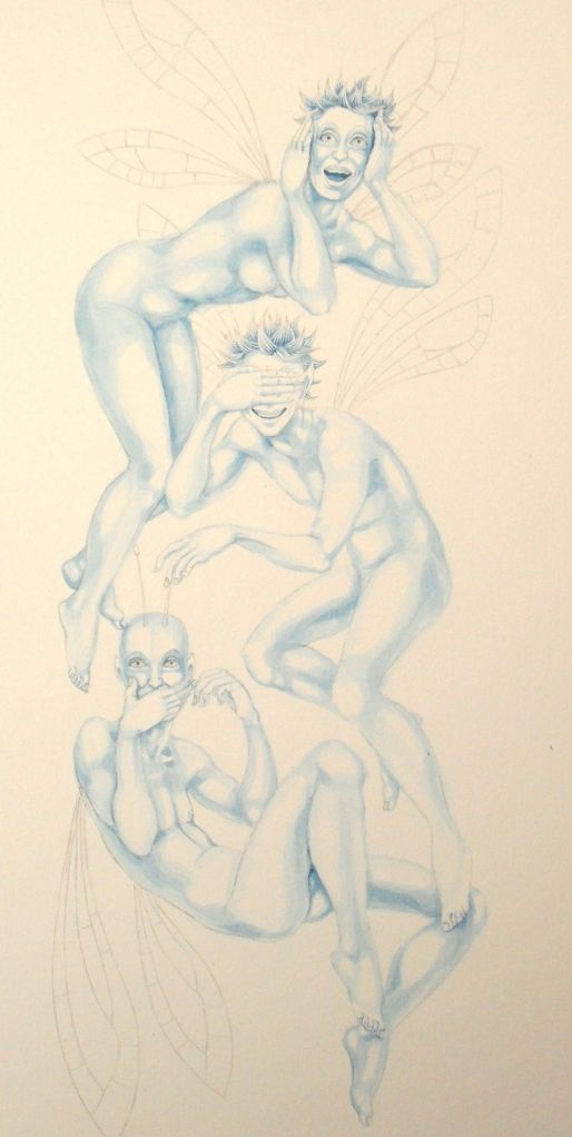 work-in-progress: 'Three Wise Fairies'