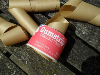 Brown gummed paper tape: the most important ingredient.