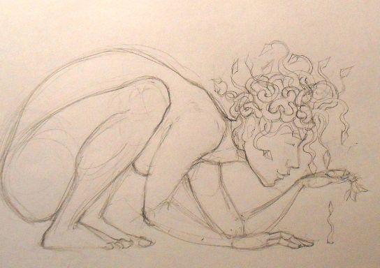 Medusa and the Seedlings (detail)