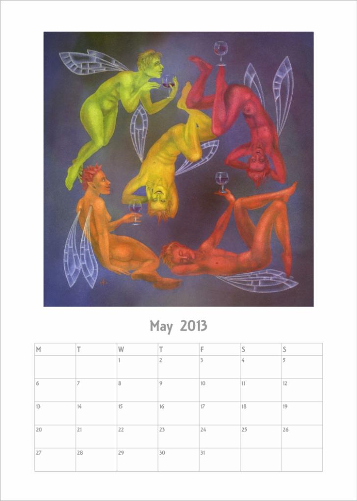 Calendar 2013 - May