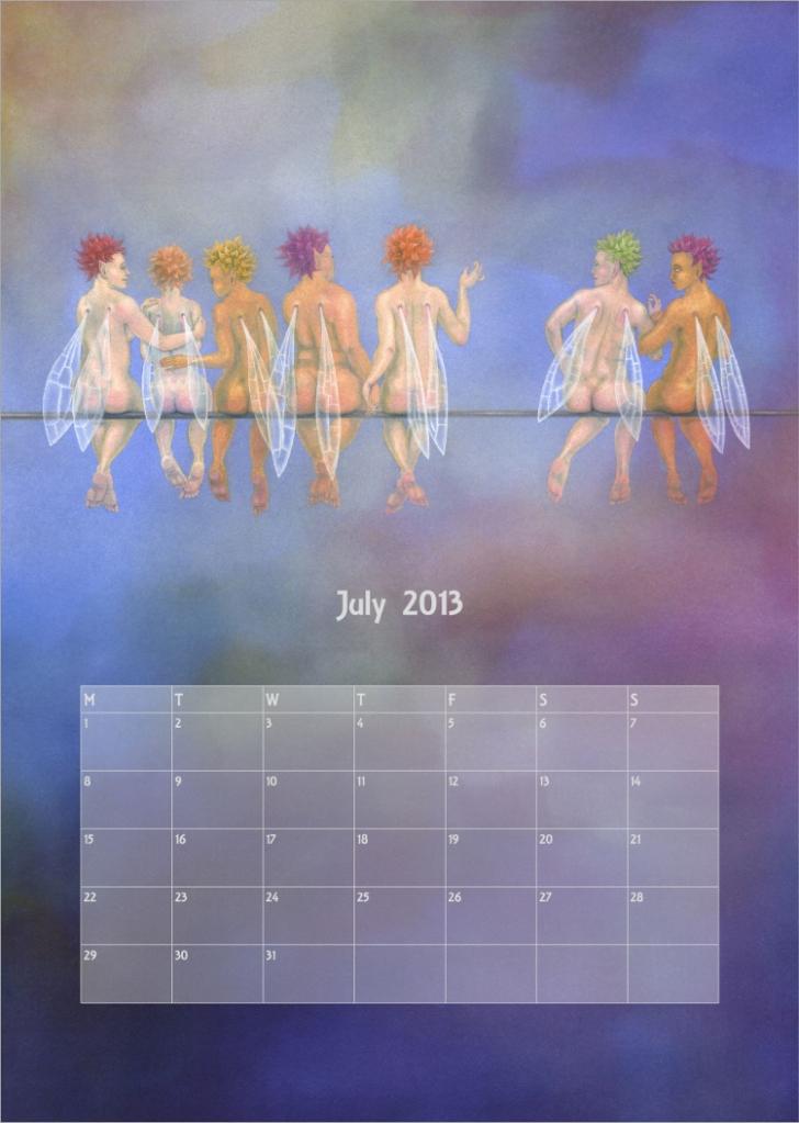 Calendar 2013 - July