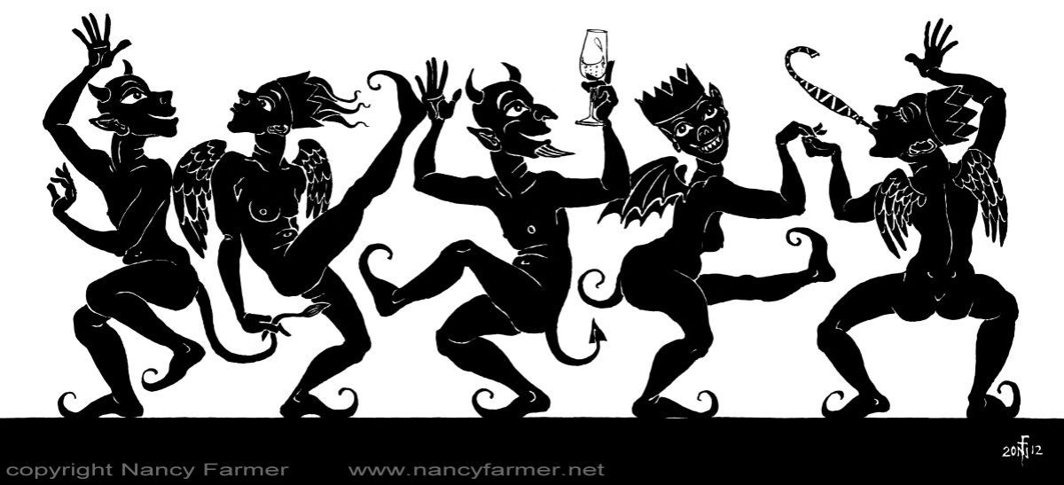 Diabolical Dancing - the Christmas card for 2012