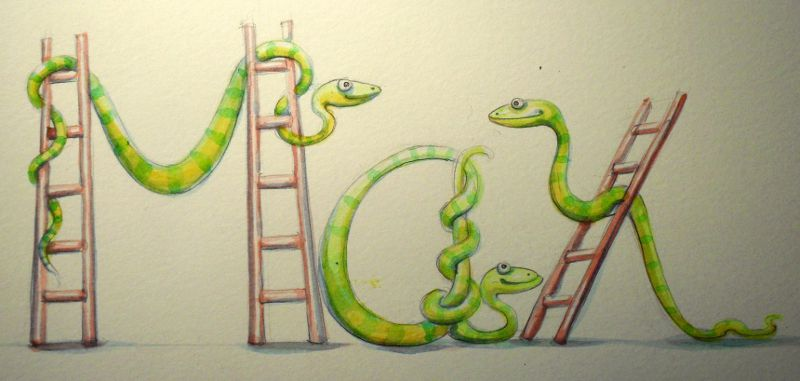 Spelling Animals - this year it's all Snakes and Ladders