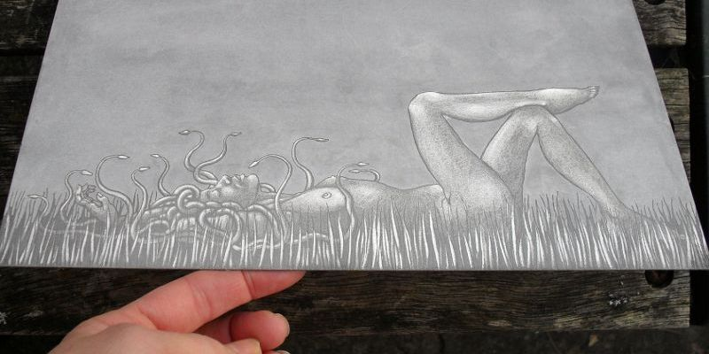 Plate for 'Snakes in the Grass'