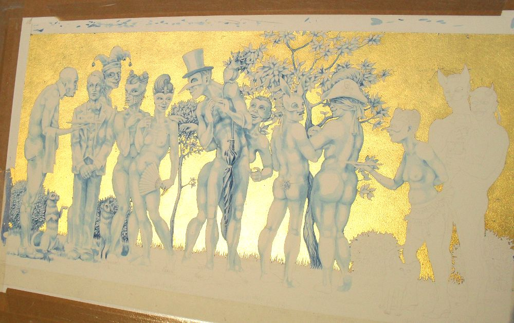 The Naked Masquerade - work in progress