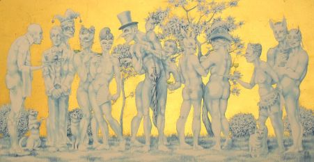 The Naked Masquerade 1