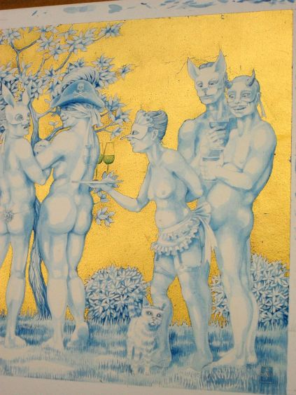 The Naked Masquerade 5