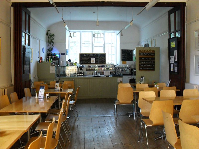 The cafe at Ilminster Arts Centre