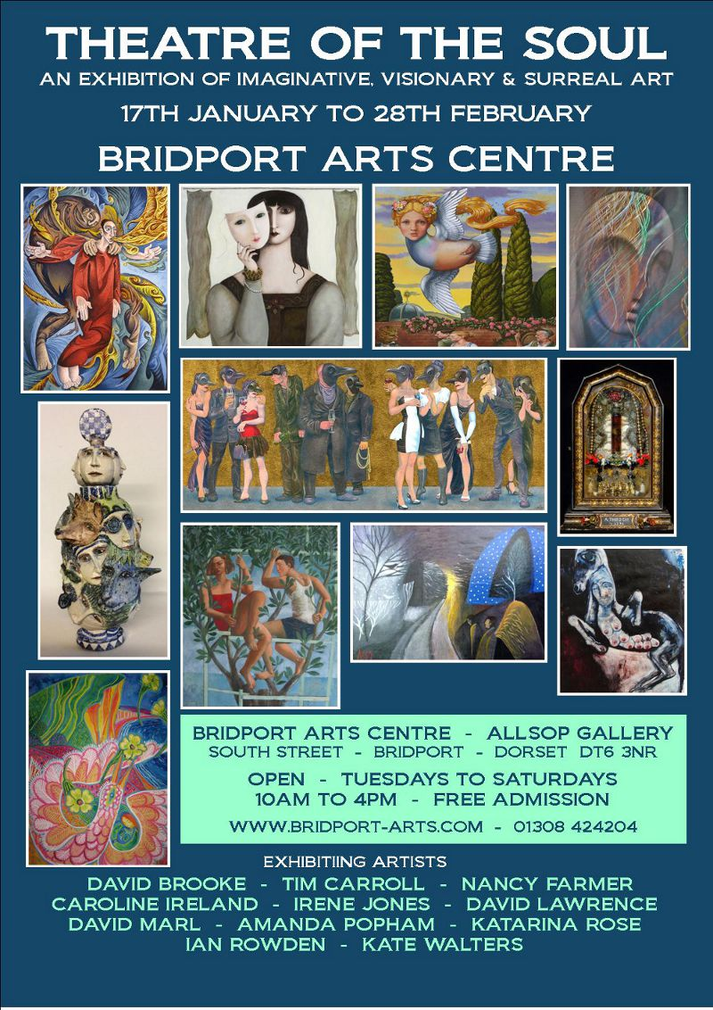 Flier for 'Theatre of the Soul' Exhibition, Bridport