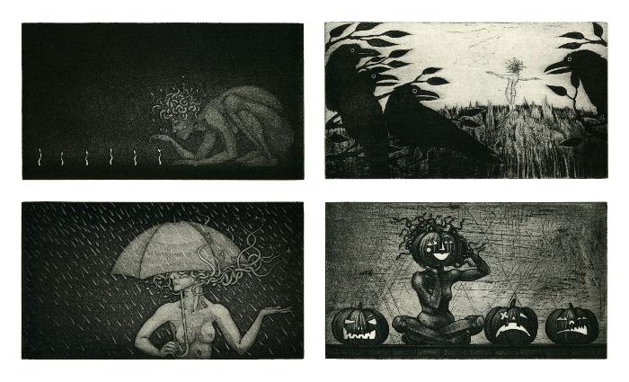 Medusa Calendar: March, September, April, October
