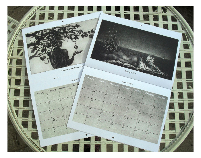 Inside the calendar: July and August