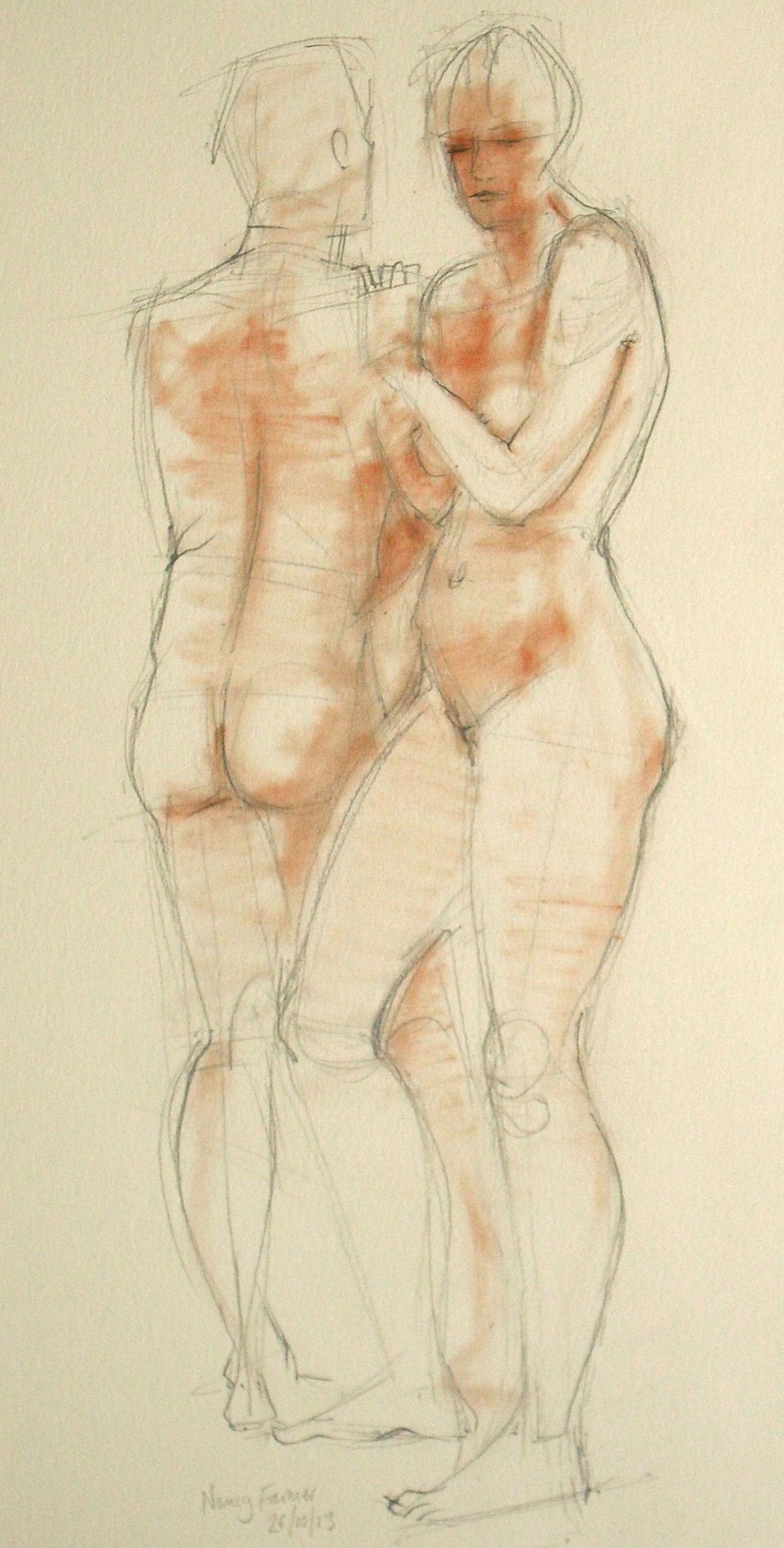 Life Drawing 16/10/13 c