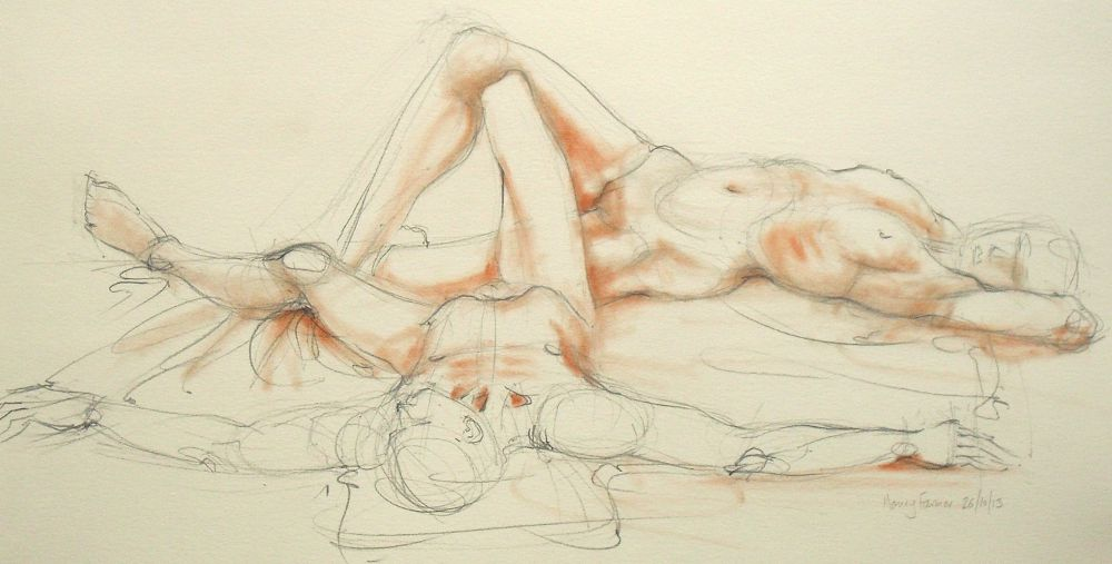 Life Drawing 16/10/13 d