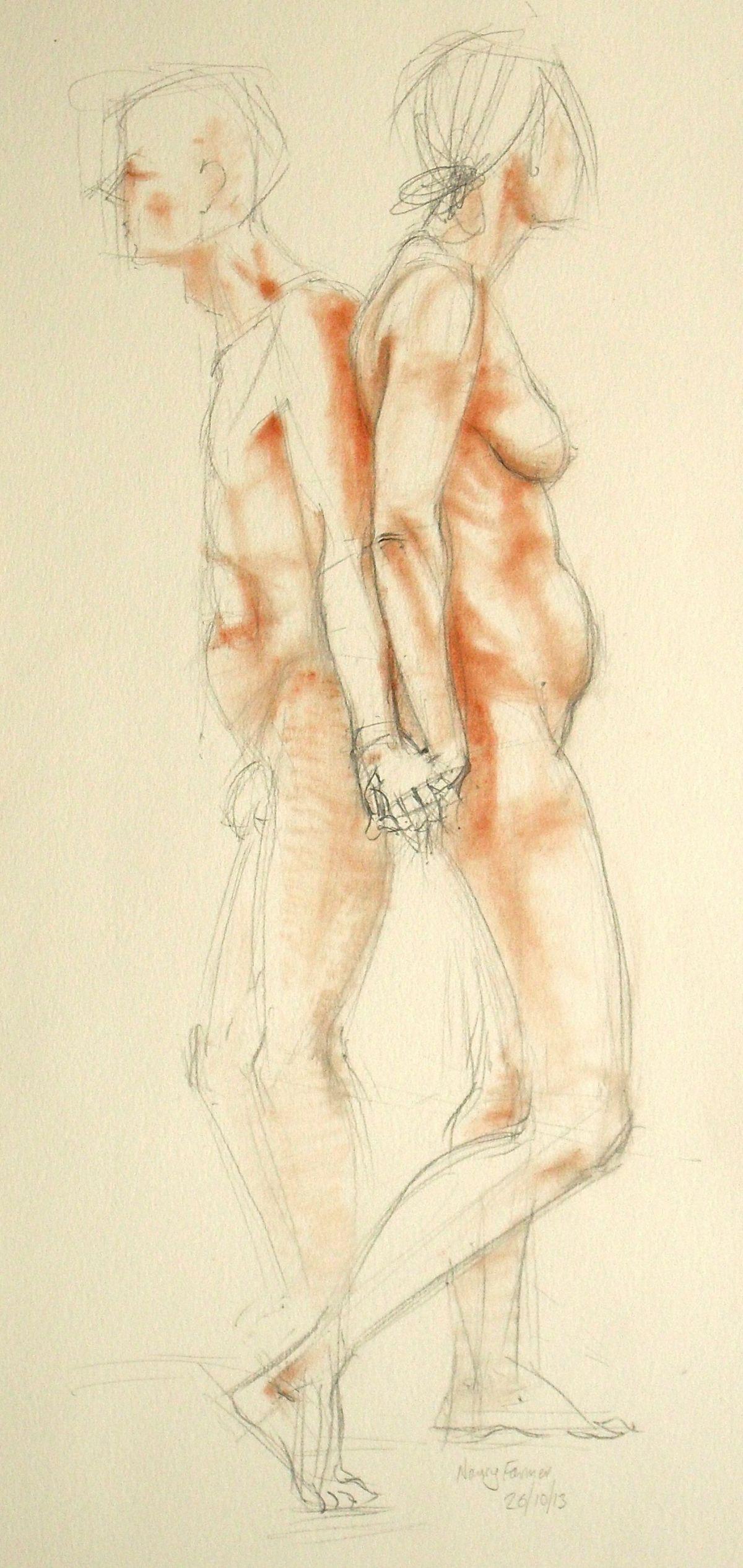 Life Drawing 16/10/13 e