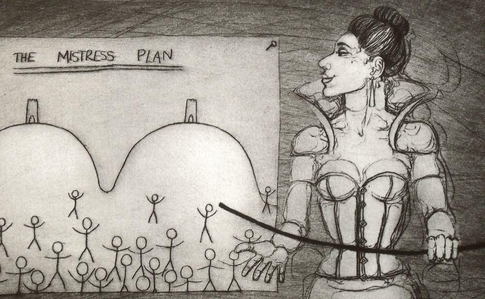 The Mistress Plan - close-up