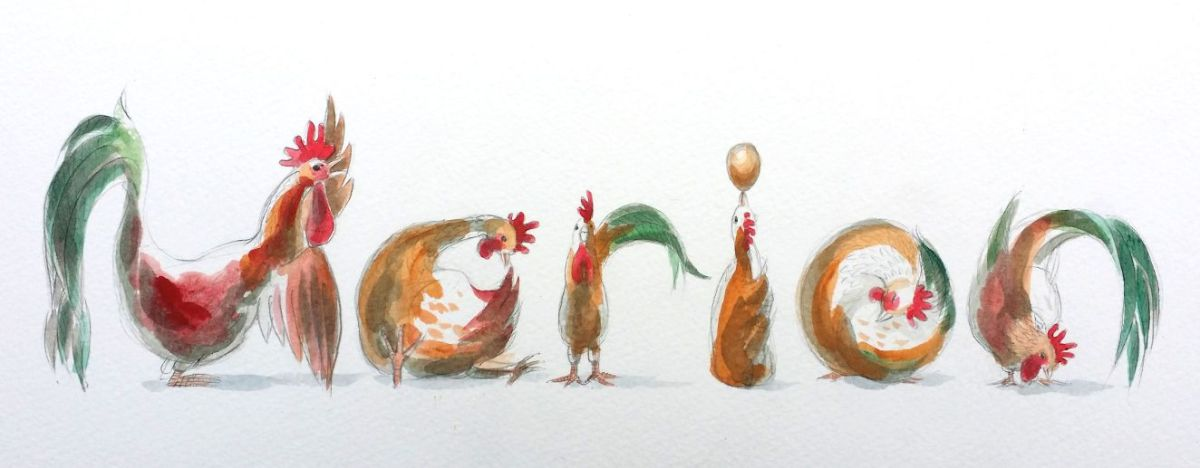 Spelling Animals - chickens
