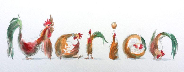 Spelling Animals - chickens