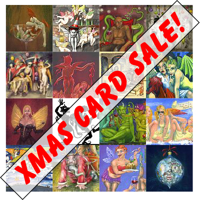 Christmas card sale