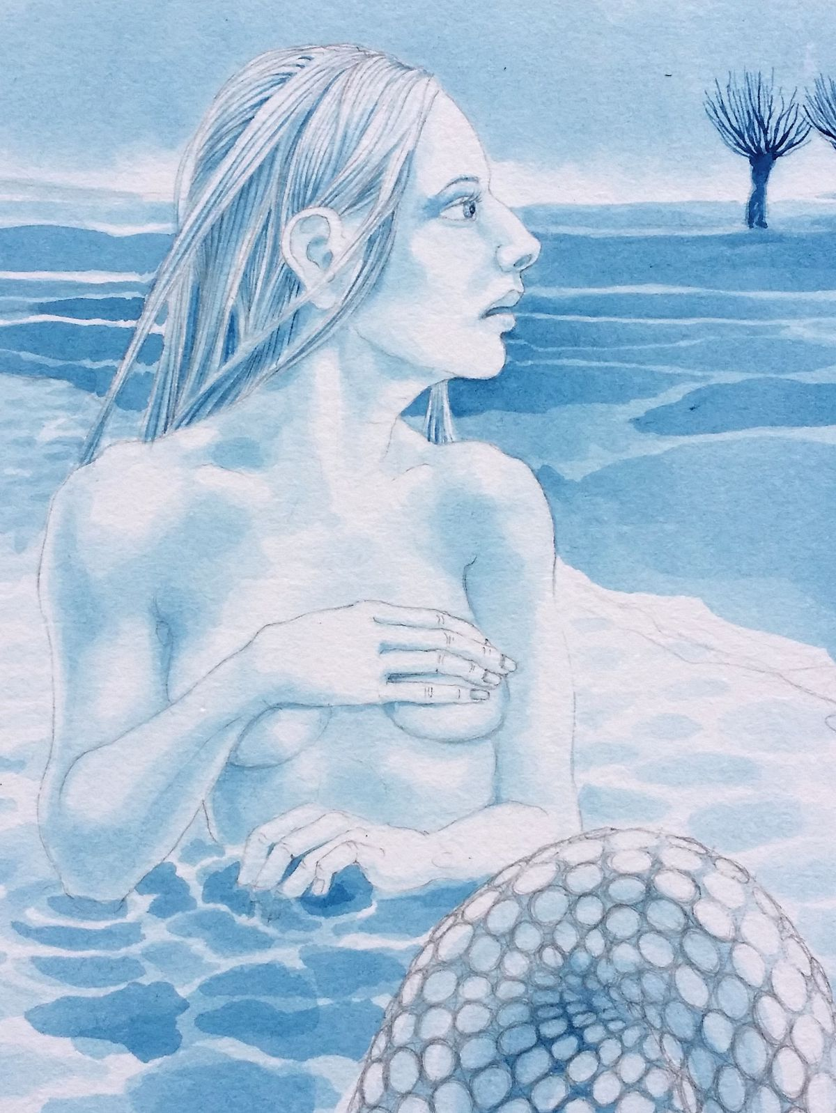 Rhyne Maiden - detail