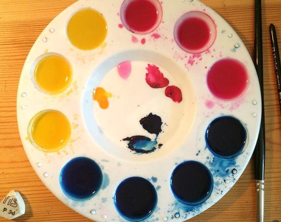Paint palette - colours