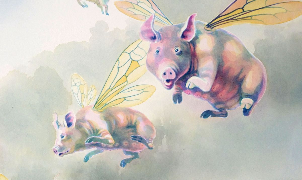 The Pigs of High Ham - detail 1