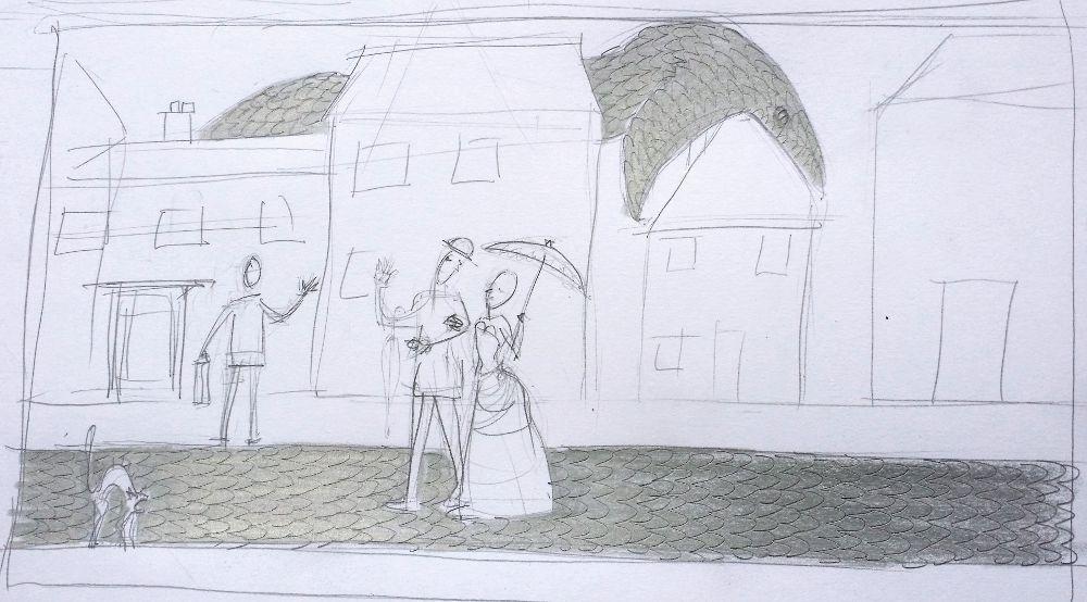 Silver Street scribble 2