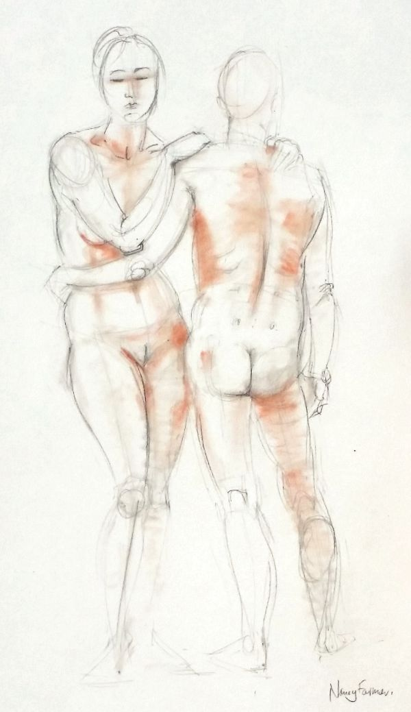 life drawing 2, march '15