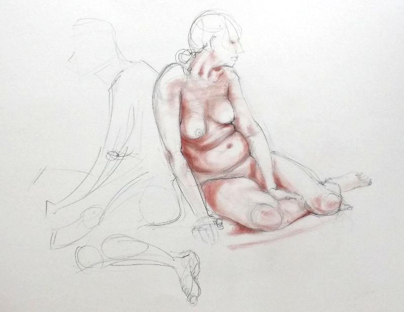 life drawing 5, 30/5/15