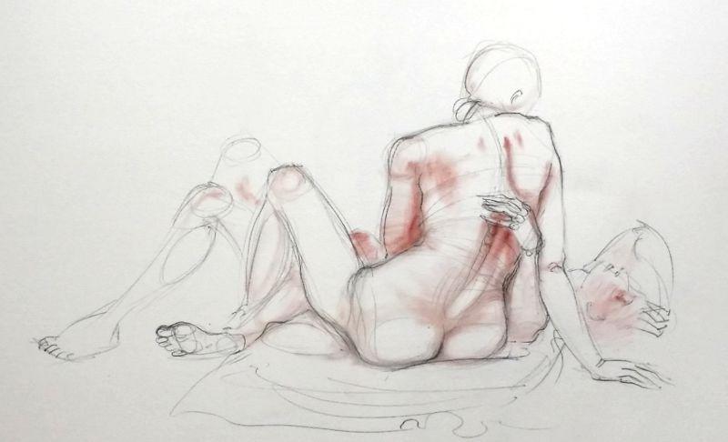 life drawing 4, 30/5/15