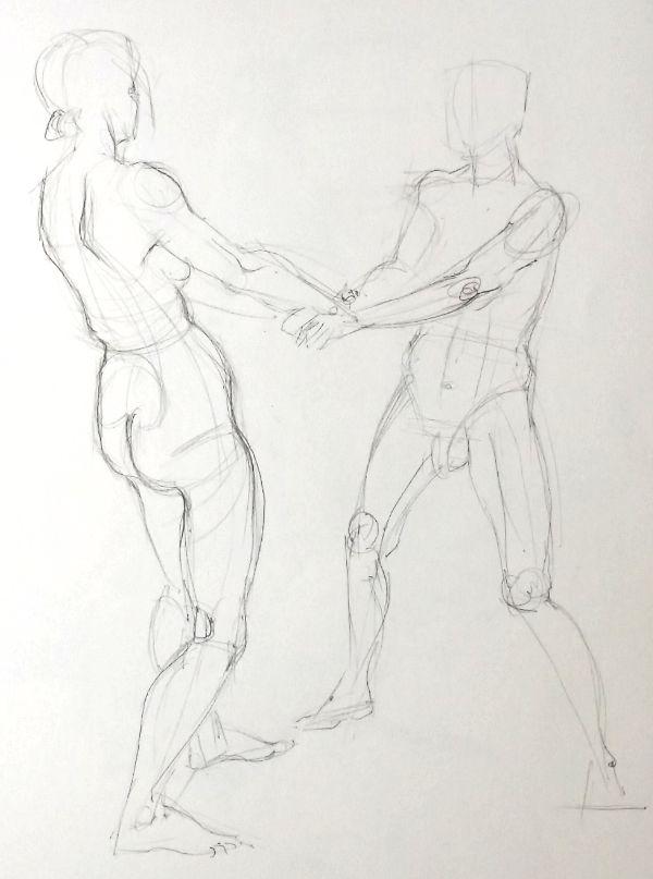 life drawing 2, 30/5/15