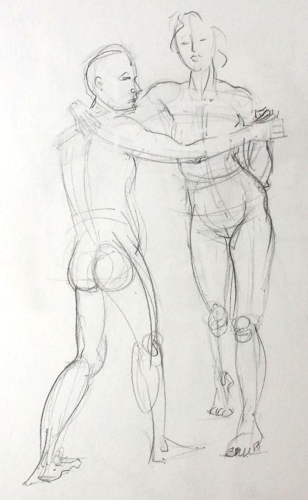life drawing 1, 30/5/15