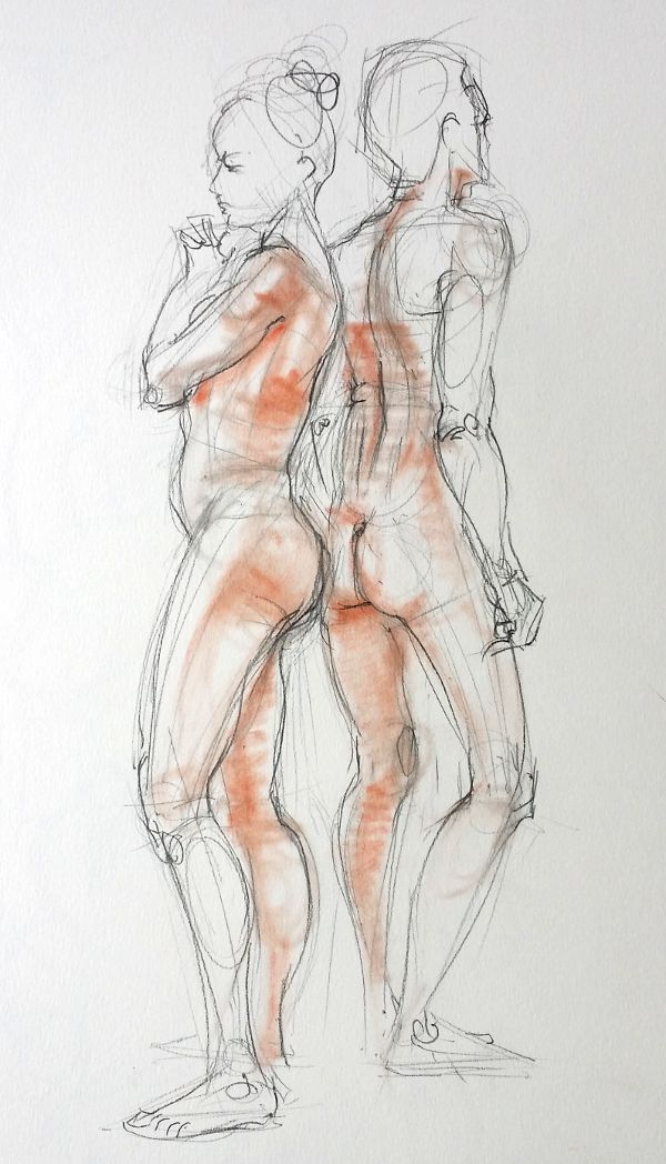 life drawing 3, march '15