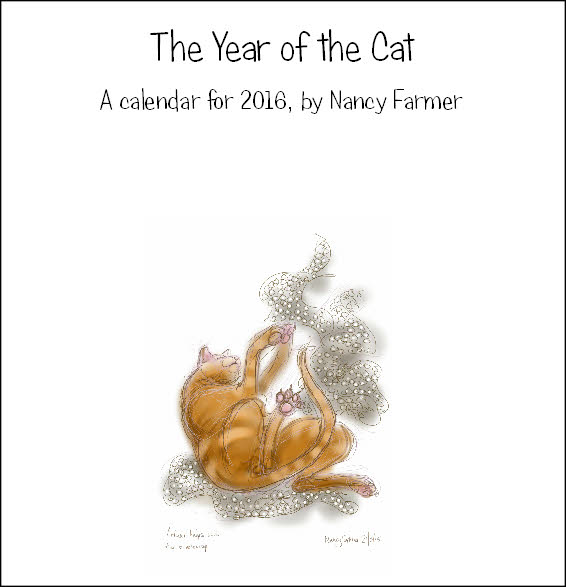 image: The Year Of The Cat - a calendar for 2016
